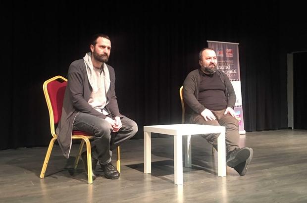 Oyuncu Timur Acar, Sinema Akademisi öğrencileriyle mesleki tecrübelerini paylaştı