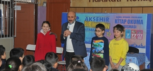Yazar Çetin, öğrencilere başarının anahtarını anlattı