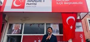 Arıkan, SP Hacılar İlçe Teşkilatı'nın açılışına katıldı