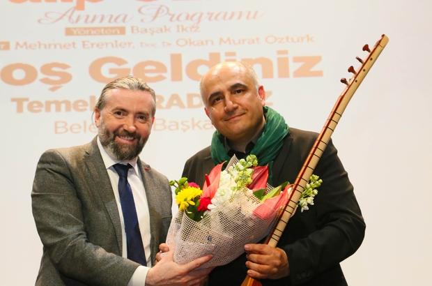 Türk Halk Müziğinin ustalarından Talip Özkan anıldı