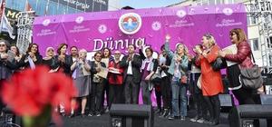 Maltepe Belediyesi'nden kadın çalışanlara 8 Mart ikramiyesi