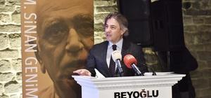 Dr. M. Sinan Genim'e Beyoğlu Nişanı ve Üstün Hizmet Beratı
