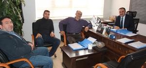 Başkan Cabbar'dan Denetim Komisyonu'na ziyaret