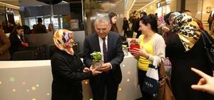 Kadınların el emeği 8 Mart Dünya Kadınlar Günü'nde sergilendi