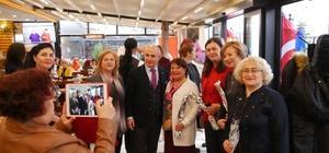 Başkan Dr. Akgün tüm mesaisini kadınlara ayırdı