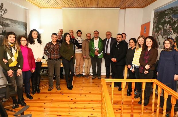 ÇEKÜL Akademi'den EYSAM'a ziyaret