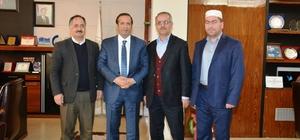 Camii derneği yönetiminden Başkan Toltar'a ziyaret