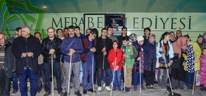 Görme engellilerden Afrin desteği
