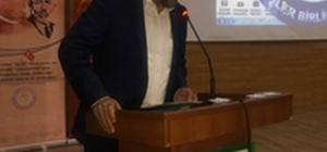"""Başkan Aydın Kalkan: """"12 Mart milletimizin İstiklal Marşı ile emperyalistlere muhtıra verdiği tarihtir"""""""