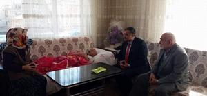 Başkan Cabbar hasta ziyaretlerine devam ediyor