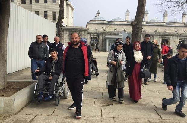 Engelli memur adaylarına moral gezisi