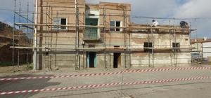 İncesu Belediyesi restorasyon çalışmalarına hız kesmeden devam devam ediyor