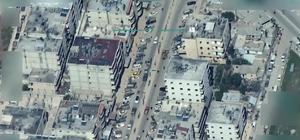 Afrin'de siviller, gitmelerine izin vermeyen teröristlere direniyor