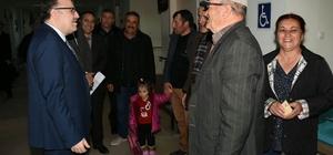 Vali Tutulmaz Emirdağ Devlet Hastanesini ziyaret etti