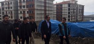 Başkan Bedirhanoğlu, Şırnak'ta yapılan konutları inceledi