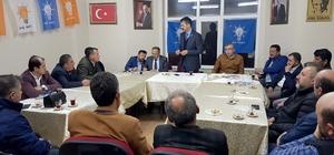 AK Parti İl Başkanı Doğanay ziyaretlere başladı