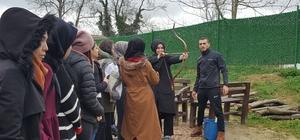 İzcilik ve Oryantring Kulübü, Ketenciler Gençlik Kampı'nı ziyaret etti
