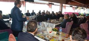 Başkan Toltar din görevlileri ile bir araya geldi