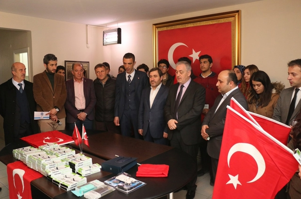 Eyüpsultan'dan Afrin'deki Mehmetçik'e destek