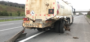 Tankerin altına giren aracın sürücüsü emekli astsubay öldü