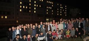 Öğrencilerden Afrin harekatına  ışıklı destek