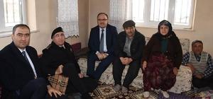 Vali Tutulmaz'dan şehit ailesine ziyaret