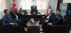 Başkan Gürsoy'dan Müdür Demir'e ziyaret