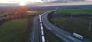 (Özel Haber) Bulgarların güncellemesi 100 kilometre tır kuyruğuna neden oldu