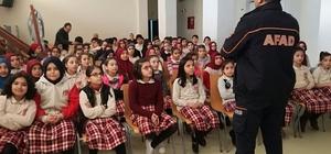 'Afete Hazır Okul' eğitimleri devam ediyor