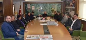 Belediye Başkanı Saraoğlu'na teşekkür ziyareti