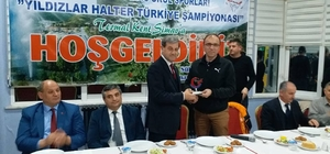 Türkiye'nin yıldız haltercileri Simav'da buluştu