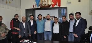Başkan Yağcı'dan, Başkan Tepe'ye hayırlı olsun ziyareti