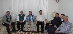 Kaymakam Karataş, Kıbrıs gazisini ziyaret etti