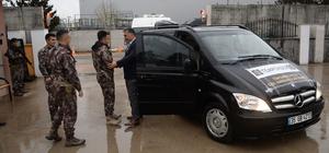 Emekli özel harekatçı polisler Kilis'te