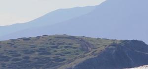 Kardak'ı gözetleyecek kule inşaatı hızla ilerliyor