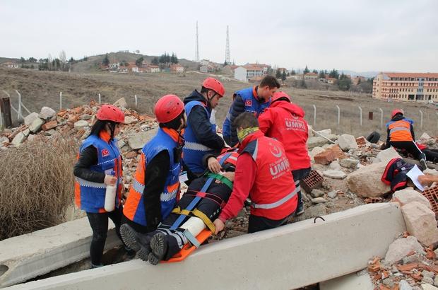 UMKE Temel Eğitimi Eskişehir'de yapıldı