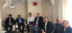 Yaman ve Toltar, Umre'den dönen Muhtar Şahin Kot'u ziyaret etti