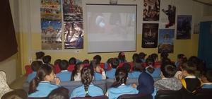 Çocuklar ilk kez sinema ile buluştu