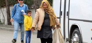 Ayvalık'ta 31 kaçak göçmen yakalandı