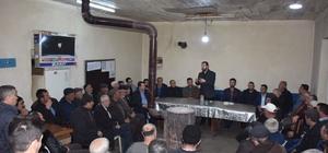 Başkan Kaynarca'nın köy ziyaretleri devam ediyor