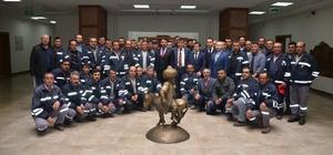Sivrihisar Belediyesi taşeron işçilerin sınavını gerçekleştirdi