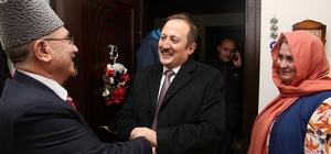Vali Pehlivan Kıbrıs ve Kore gazilerini ziyaret etti