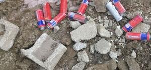 Van'da EYP yapımında kullanılan malzeme ele geçirildi