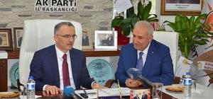Maliye Bakanı Ağbal'ın Malatya'daki son durağı AK Parti oldu