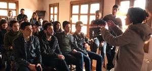 Buldan'daki tarihi Beyler Konağı'nda ilk ders yapıldı