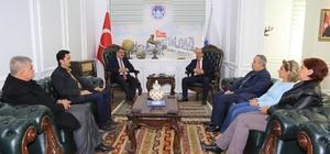 Başkan Gürkan, STK'larla istişarelere devam ediyor