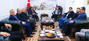 Ak Parti Genel Başkan Danışmanı Akif Gülle Battalgazi'de