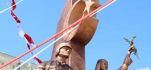 Mersin'de Zeytin Dalı Anıtı'nın açılışı yapıldı