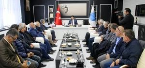 Türkiye Gazeteciler Konfederasyonu'ndan Rektörü Karacoşkun'a Ziyaret