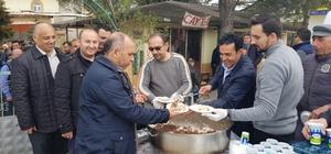 Gediz sanayi esnafı Afrin şehitleri için mevlit okuttu